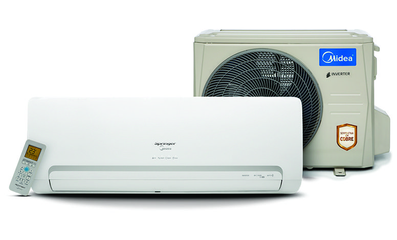 Split Springer Midea Inverter 9.000 BTU/h Frio